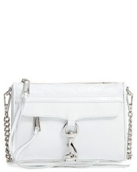 Rebecca Minkoff Mini Mac Convertible Crossbody Bag White