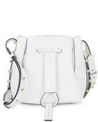 Mini Studded Leather Bucket Bag