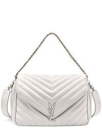 Saint Laurent Monogram Large Slouchy Matelass Leather Shoulder Bag