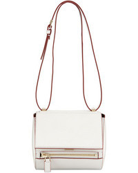 Givenchy Pandora Mini Box Crossbody Bag Whitered