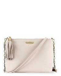 GiGi New York Personalized Chelsea Pebbled Leather Crossbody Bag