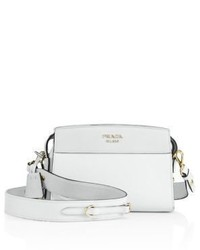 Prada Esplanade Leather Crossbody Bag