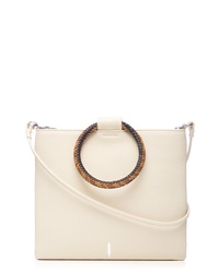 THACKE R Le Pouch Ring Leather Crossbody Bag