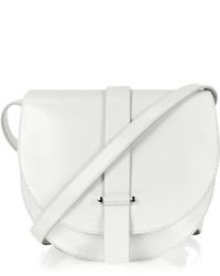 Jil Sander Robin Natural White Leather Crossbody Bag
