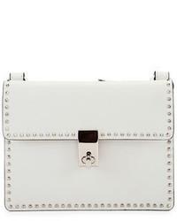 Valentino Garavani Rockstud Flap Leather Crossbody Bag