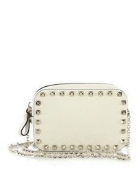 Valentino Garavani Rockstud Leather Camera Bag