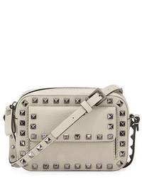 Valentino Garavani Rockstud Small Flap Pocket Camera Crossbody Bag