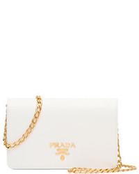 Prada Saffiano Lux Crossbody Bag