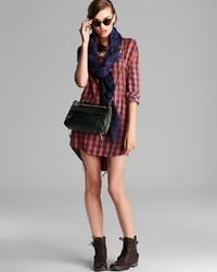 ... Rebecca Minkoff Shoulder Bag Swing Leather ... b9dca318108b1