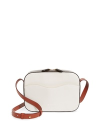 Marni Small Shell Colorblock Leather Shoulder Bag