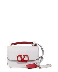 Valentino Garavani Small Vlock Chain Calfskin Shoulder Bag