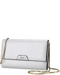 Lauren Ralph Lauren Tate Leather Mini Chain Strap Crossbody Bag