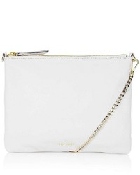 Topshop Leather Crossbody Bag