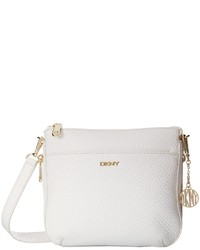 DKNY Tribeca Soft Tumbled Double Zip Crossbody