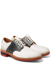 Patrician folk two tone leather derby shoes medium 5363215