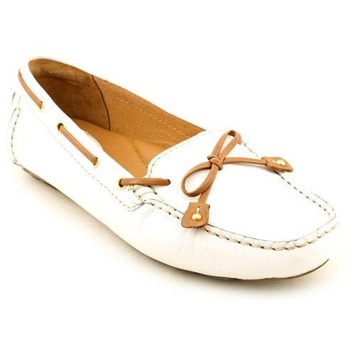 clarks dunbar racer white moc leather driving mocs shoes