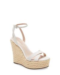 Schutz Alanise Espadrille Platform Wedge Sandal