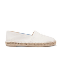 Rag & Bone Edie Collapsible Heel Leather Espadrilles