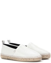 Embossed leather espadrilles medium 5255332