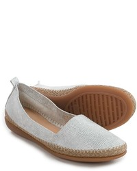 The Flexx Rapid Espadrille Flats Leather