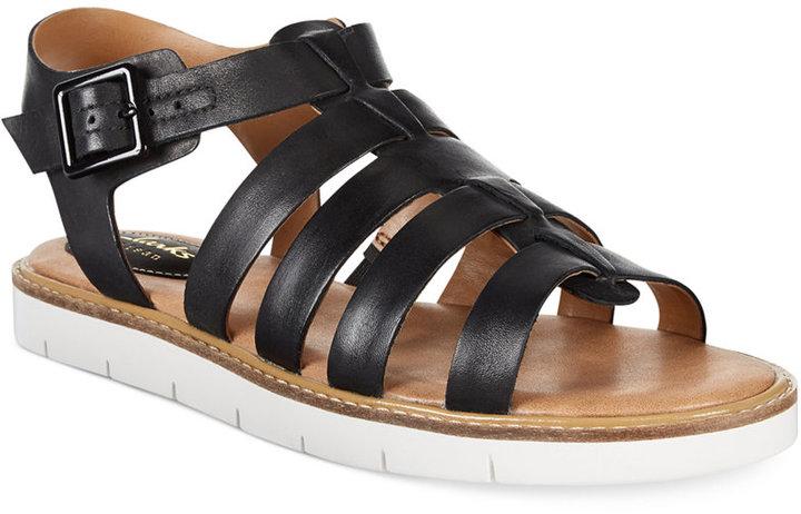 dc5608b41f0 Clarks Artisan Lydie Kona Flat Sandals