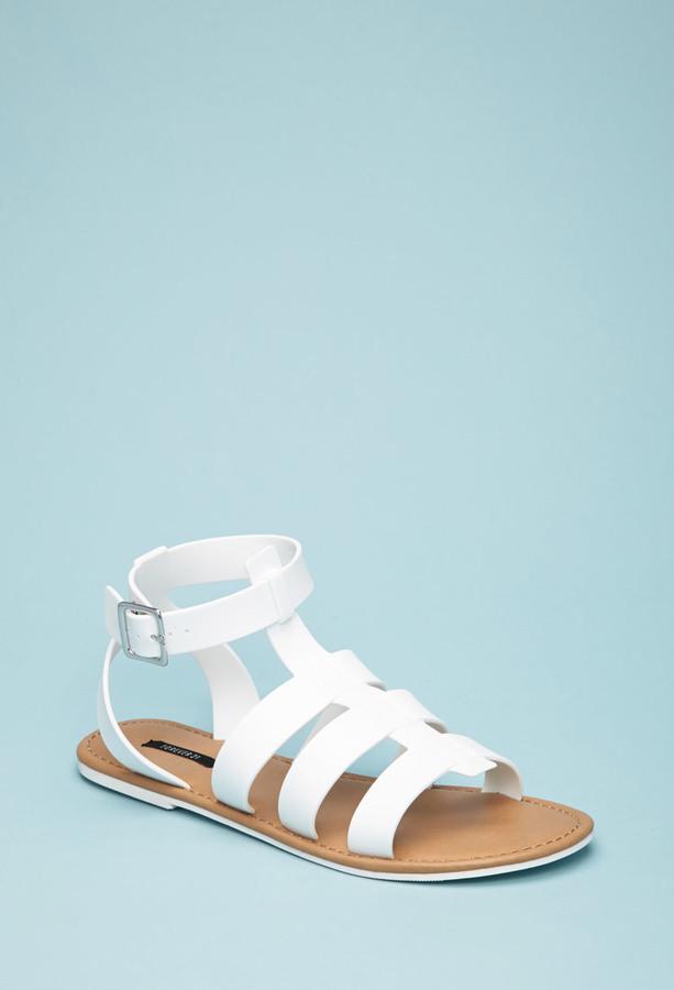 bcb7b92b1f9 ... Forever 21 Caged Ankle Strap Sandal ...