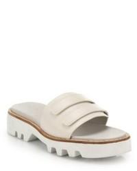 Rag and Bone Rag Bone Seldon Leather Slide Sandals