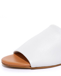 21f0763aaf8 ... Steve Madden Steven Madden Slidur Black Leather Slide Sandals ...