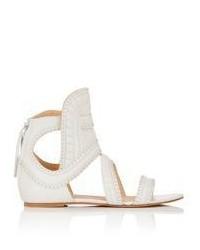 IRO Studded Xanka Gladiator Sandals White Size 8