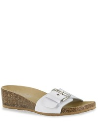 Easy Street Shoes Tuscany By Easy Street Amico Wedge Slide Sandals
