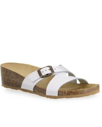 Easy Street Shoes Tuscany By Easy Street Sandalo Wedge Slide Sandals
