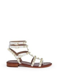 Sam Edelman Eavan Stud Leather Gladiator Sandals