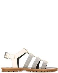 Brunello Cucinelli Gladiator Sandals