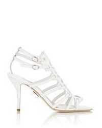 Paul Andrew Attica Gladiator Sandals White Size 6