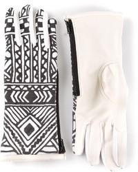 Kokon To Zai Ktz Tattoo Printed Gloves