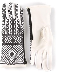 Kokon To Zai Ktz Tattoo Printed Gloves