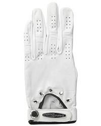 Swarovski Jamie Sadock Cabretta Leather Gloves W Crystals
