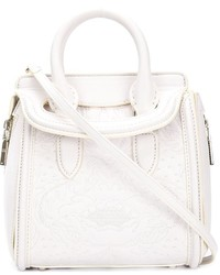 Alexander McQueen Embroidered Mini Heroine Tote