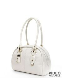 B Collective By Buxton Bianca Leather Satchel