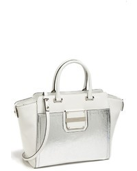 Milly Colby Metallic Leather Tote