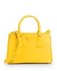 c3fe4b58589c Prada Saffiano Lux Small Double Zip Tote, $1,850   Saks Fifth Avenue ...