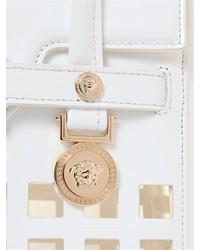 ... Versace Signature Patent Leather Top Handle Bag ... 8d6b80d1e3109