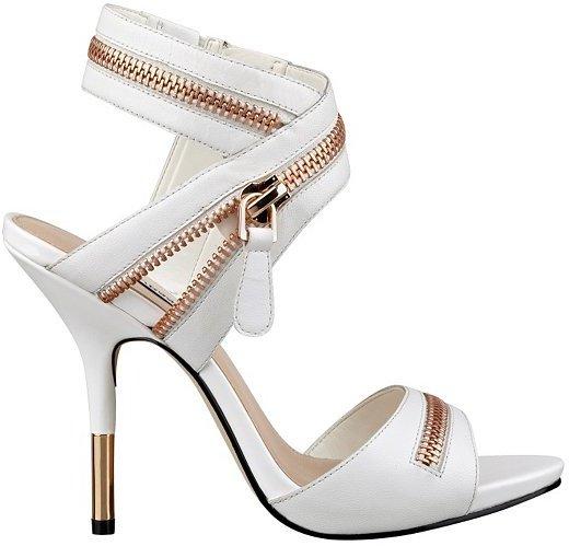 GUESS Kainda Zippered Heels, $110