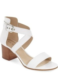 Jobina crisscross strap block heel sandal medium 698142