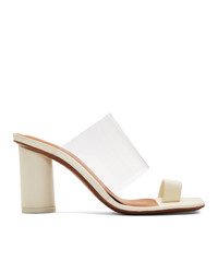 Neous Off White Chost 80 Heeled Sandals
