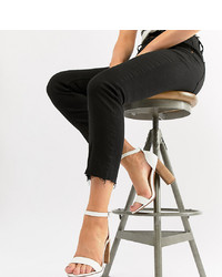 1764703bbe9 Truffle Collection Block Heel Mule Sandals  36 · ASOS DESIGN Tamsina Wide  Fit Heeled Sandals