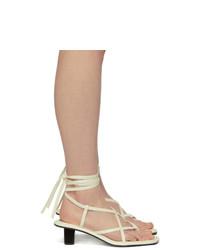 Proenza Schouler White Py Mid Heel Sandals