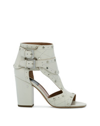 d0a6586b8fe Women s White Leather Heeled Sandals from farfetch.com