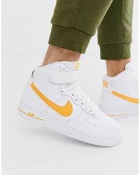 quality design a1d95 404fd Nike Air Force 1 High Trainers In Gold