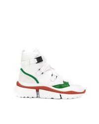 Chloé Ankle Cross Strap Sneakers